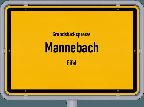 Grundstückspreise Mannebach (Eifel) 2019