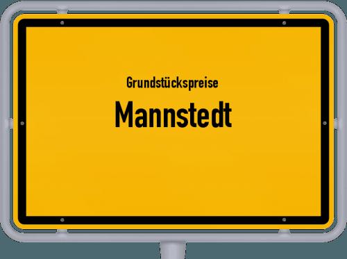 Grundstückspreise Mannstedt 2019
