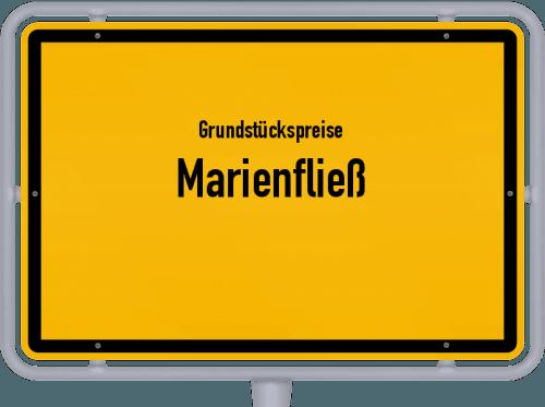 Grundstückspreise Marienfließ 2021