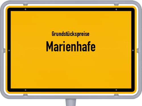 Grundstückspreise Marienhafe 2021