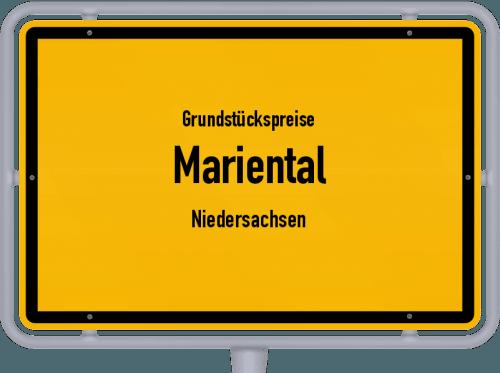 Grundstückspreise Mariental (Niedersachsen) 2019