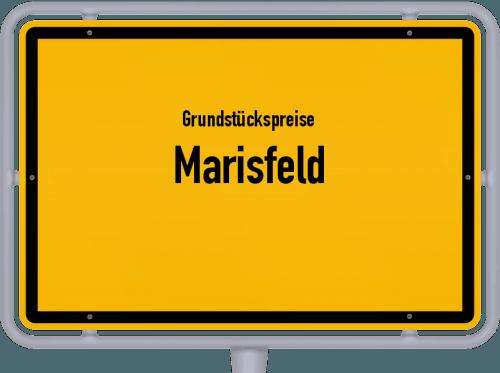 Grundstückspreise Marisfeld 2019