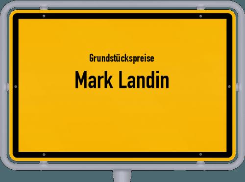 Grundstückspreise Mark Landin 2021