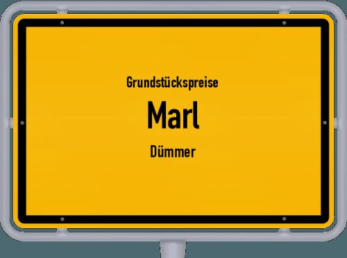 Grundstückspreise Marl (Dümmer) 2019