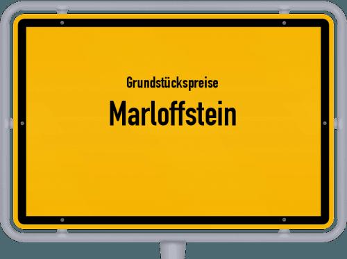 Grundstückspreise Marloffstein 2019