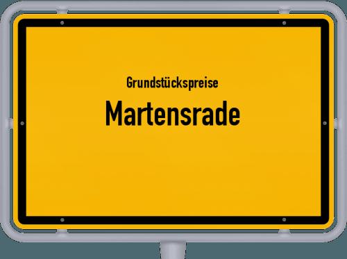 Grundstückspreise Martensrade 2021