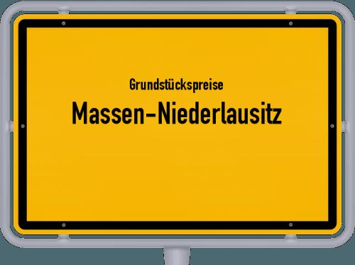 Grundstückspreise Massen-Niederlausitz 2021