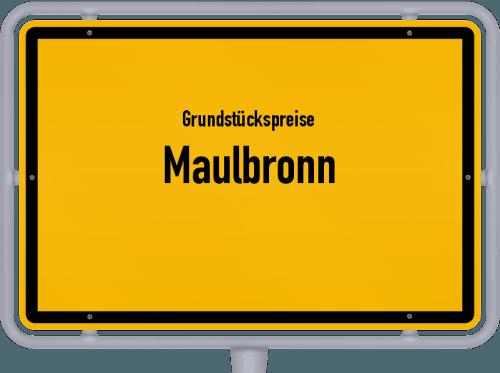 Grundstückspreise Maulbronn 2018