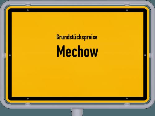 Grundstückspreise Mechow 2021