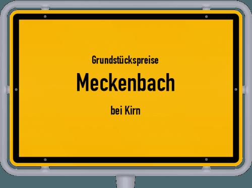 Grundstückspreise Meckenbach (bei Kirn) 2019