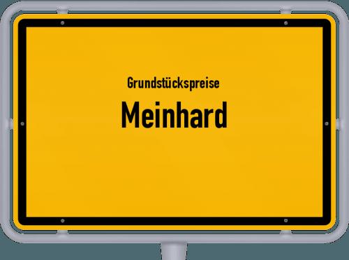 Grundstückspreise Meinhard 2018