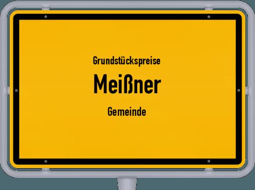 Grundstückspreise Meißner (Gemeinde) 2018