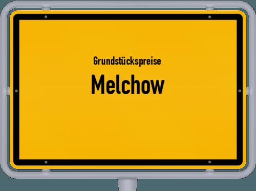 Grundstückspreise Melchow 2021