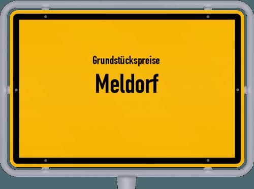 Grundstückspreise Meldorf 2021