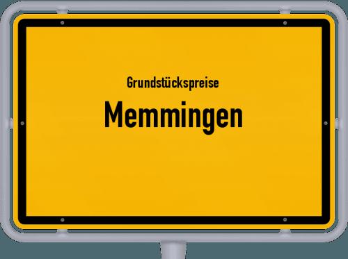 Grundstückspreise Memmingen 2019