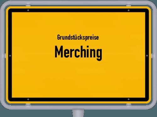 Grundstückspreise Merching 2019