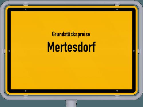 Grundstückspreise Mertesdorf 2019