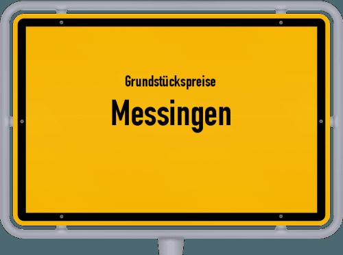 Grundstückspreise Messingen 2019