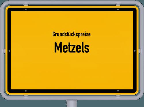 Grundstückspreise Metzels 2019