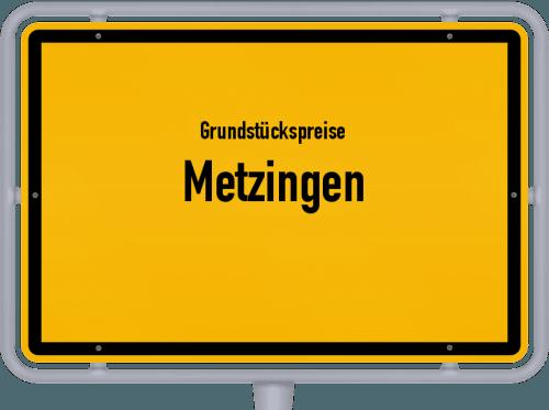 Grundstückspreise Metzingen 2021