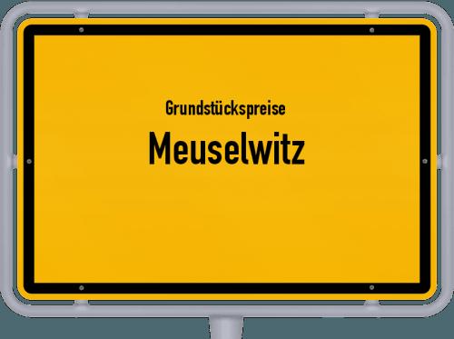 Grundstückspreise Meuselwitz 2019