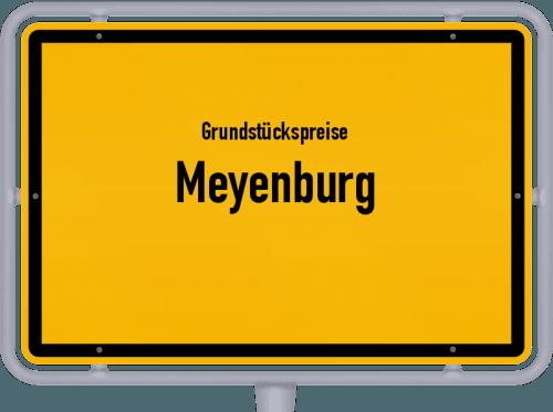 Grundstückspreise Meyenburg 2021