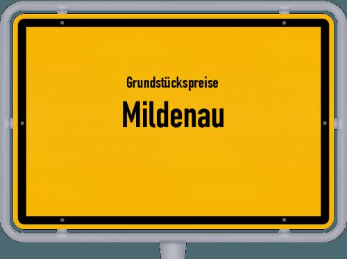 Grundstückspreise Mildenau 2019