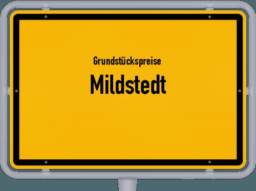 Grundstückspreise Mildstedt 2021