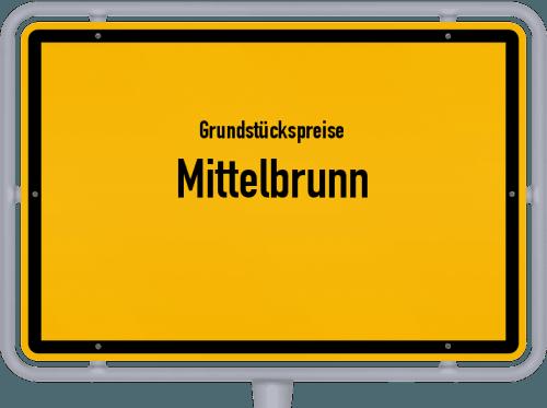 Grundstückspreise Mittelbrunn 2019