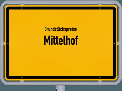 Grundstückspreise Mittelhof 2019