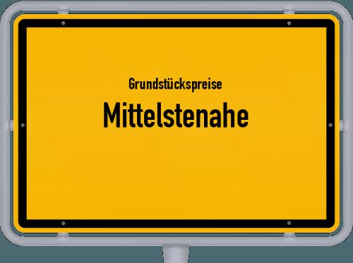 Grundstückspreise Mittelstenahe 2019