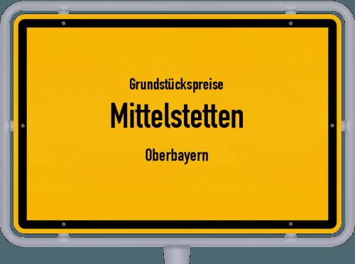 Grundstückspreise Mittelstetten (Oberbayern) 2019
