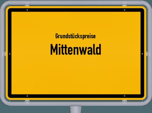 Grundstückspreise Mittenwald 2019