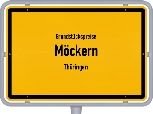 Grundstückspreise Möckern (Thüringen) 2019