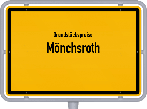 Grundstückspreise Mönchsroth 2019
