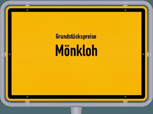 Grundstückspreise Mönkloh 2021