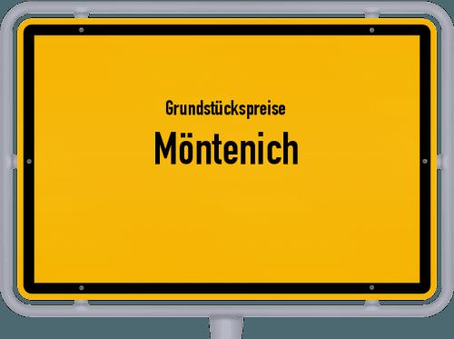 Grundstückspreise Möntenich 2019