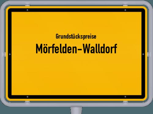 Grundstückspreise Mörfelden-Walldorf 2018