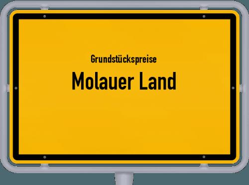 Grundstückspreise Molauer Land 2021