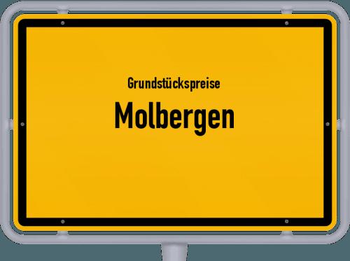 Grundstückspreise Molbergen 2021