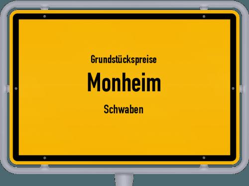 Grundstückspreise Monheim (Schwaben) 2019