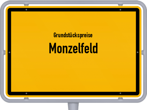 Grundstückspreise Monzelfeld 2019