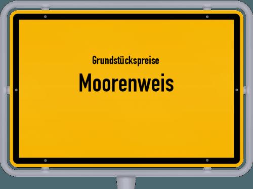Grundstückspreise Moorenweis 2019