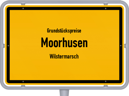 Grundstückspreise Moorhusen (Wilstermarsch) 2021