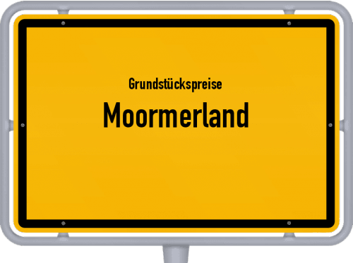 Grundstückspreise Moormerland 2019