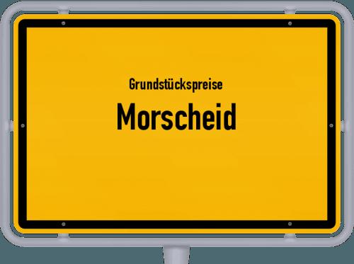 Grundstückspreise Morscheid 2019