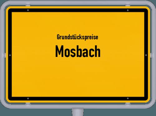 Grundstückspreise Mosbach 2021