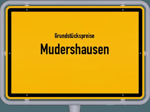 Grundstückspreise Mudershausen 2019