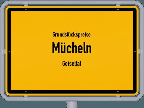 Grundstückspreise Mücheln (Geiseltal) 2021