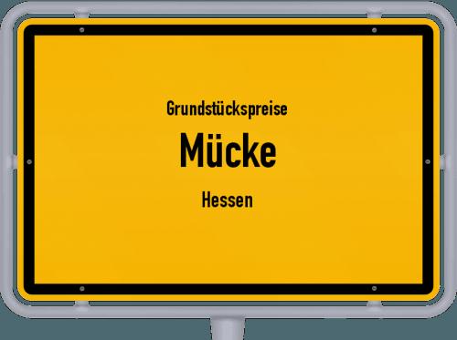 Grundstückspreise Mücke (Hessen) 2020